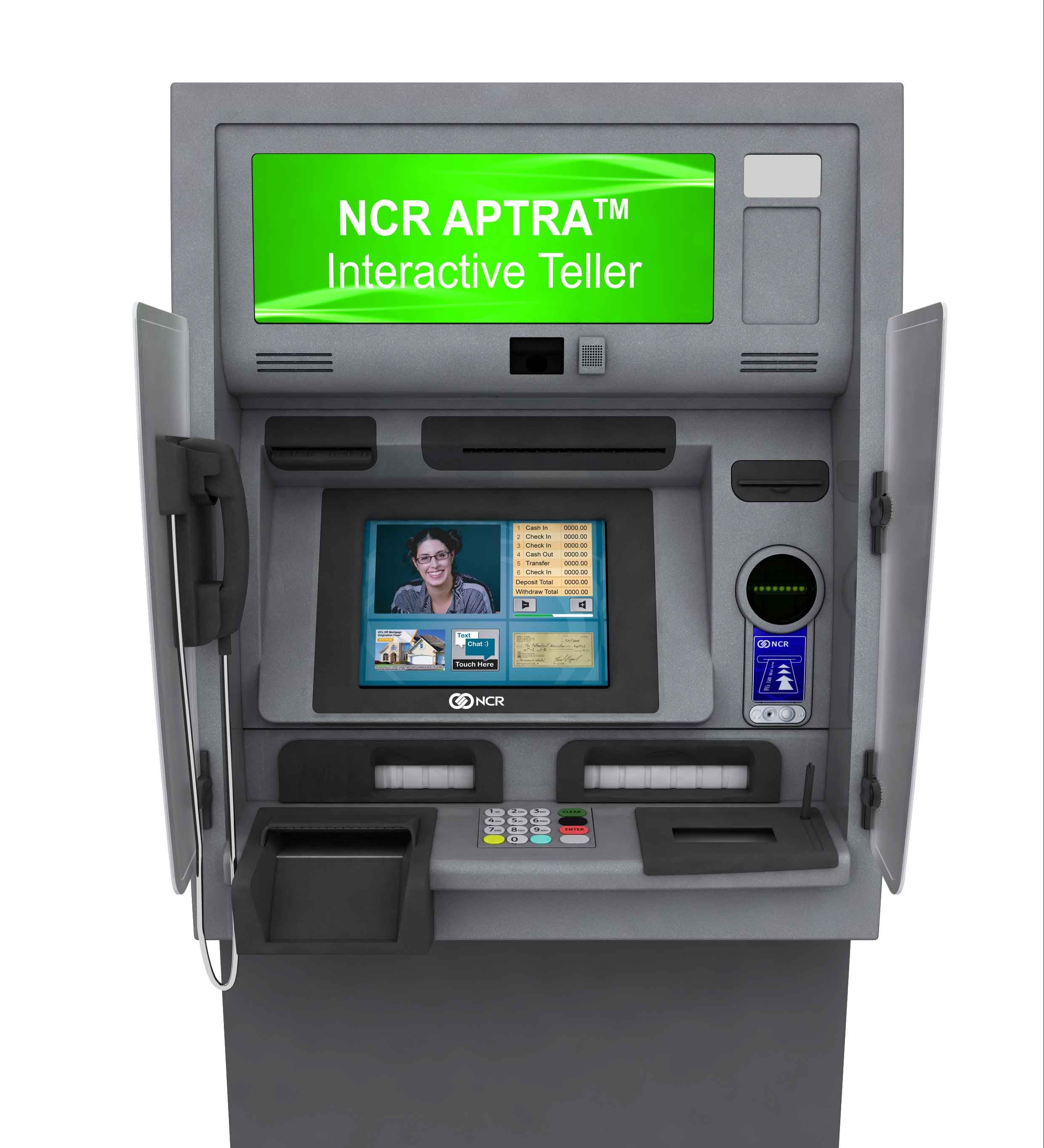 NCR Aptra Interactive Teller ATM Machine for Sale